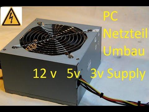 PC Netzteil Umbau zu Labornetzteil