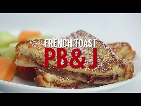 How to Make French Toast PB&J   Sandwich School