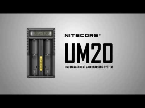 Зарядное устройство Nitecore Sysmax UM20 - видео 1