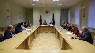 Заседание комиссии по содействию занятости населения