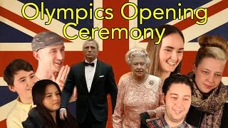 Gambar cover London Olympics 2012 Opening Ceremony Reaction - Head Spread on James Bond & The Queen