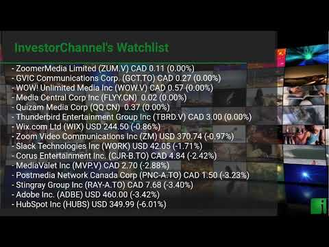 InvestorChannel's Media Watchlist Update for Wednesday, Ja ... Thumbnail