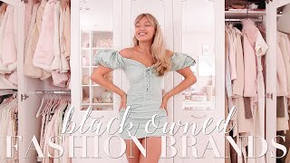 Black Owned Fashion Brands Haul! ~ Freddy My Love