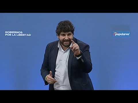 Fernando Lopez Miras, inaugura el acto 'Gobiernos por la libertad'