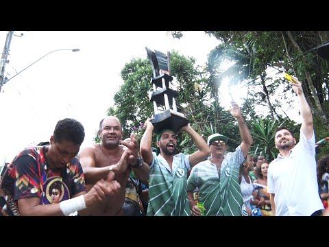 Friburgo: veja como foi a comemoração da Vilage no Samba, campeã do Carnaval