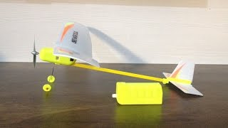 How To Build And Fly An Electric Powered Plane Estes Seagull Not Rubber Band Powered