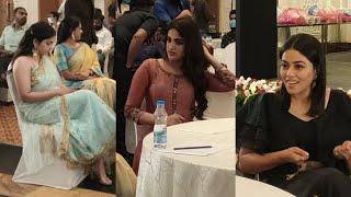 Actress poorna, Nidhi agarwal and punarnavi at 19teen forever launch
