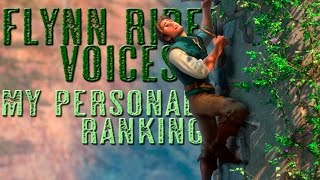 41 voices of Flynn Rider - My personal ranking