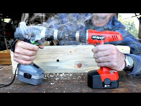 Testing The Cheapest Cordless Drill On AMAZON