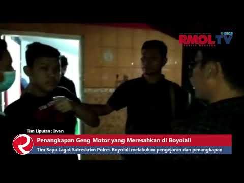 Detik detik Penangkapan Geng Motor yang Meresahkan di Boyolali
