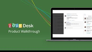 Vídeo de Zoho Desk