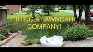 What to look for when hiring a lawn care company! ~ LAWN CARE VLOG