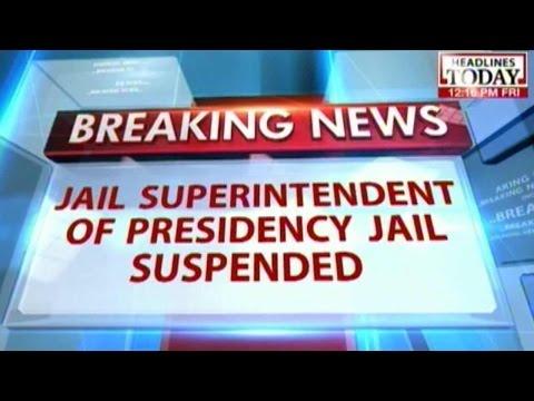 Kolkata Jail superintent suspended for negligince in Kunal Gosh suicide attempt