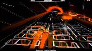 Zeromancer - Need You Like a Drug (Audiosurf)
