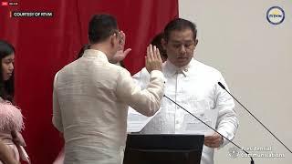 Martin Romualdez takes oath as Majority Floor Leader