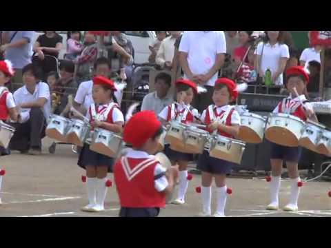 新藤義孝「川口ふたば幼稚園運動会2011【マーチング】」