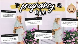 ANSWERING YOUR PREGNANCY QUESTIONS! Pt 2 | Aspyn Ovard