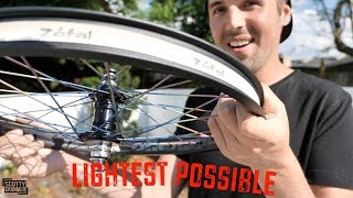 Building The Lightest Wheels Possible!