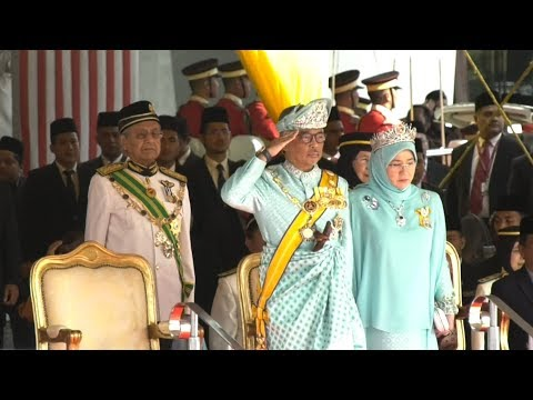 Sultan Abdullah sworn in as the new King