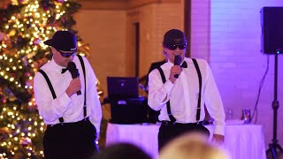 Brothers Of The Bride Do A Surprise RapToast At Wedding Reception