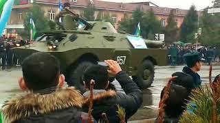 Показ узбекской армии в Андижане #1 Парад в Узб