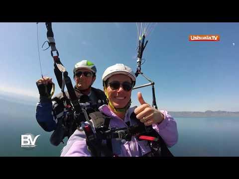 Vol au dessus du lac Léman
