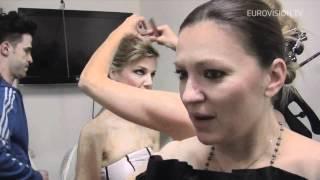 Nina Badrić - Nebo (Croatia) Second Rehearsal and Backstage