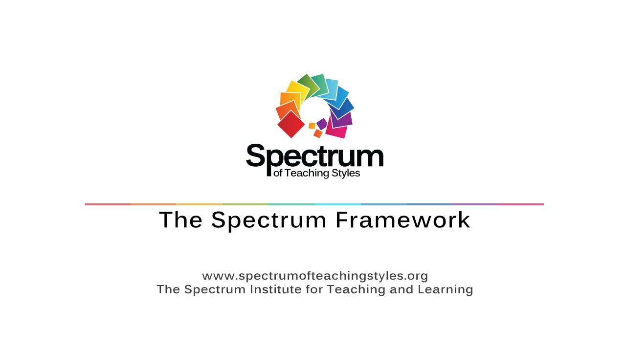 The Spectrum Framework's thumbnail