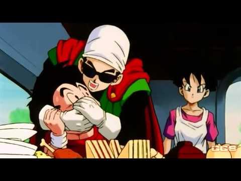 World Tournament Vegeta and Goku eating (1080)