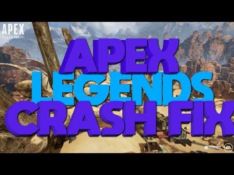 APEX LEGENDS CRASH FIX!