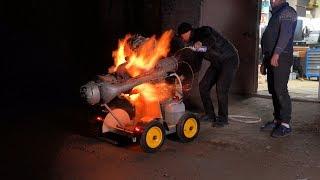 GTD-350 Выкинул лишнее - двигатель не понял что...