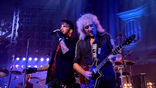 Queen + Adam Lambert - We are the Champions - New Years Eve London 2014