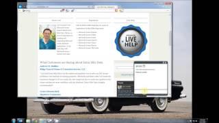 Vidéo de HelpOnClick Live Chat Software