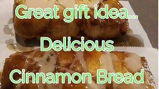 Large family recipe..Great GIFT idea.. Gooey Cinnamon Bread...DELICIOUS