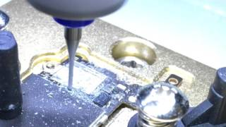 iPhone 6 WiFi remove by CNC engraver