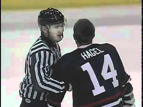 Kyle Hagel vs. Adam Huxley