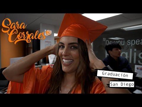 Sara Corrales en EC San Diego - Graduación
