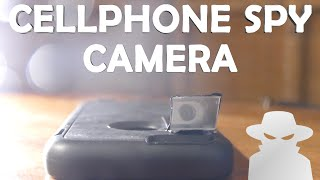 How To Make a Cellphone Spy Camera! - Quick Build