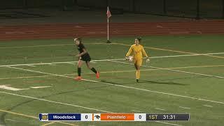 Full game: Woodstock 1, Plainfield 0 in ECC girls' soccer final