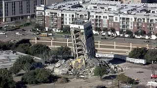 'Leaning Tower of Dallas' Still Hasn't Come Down