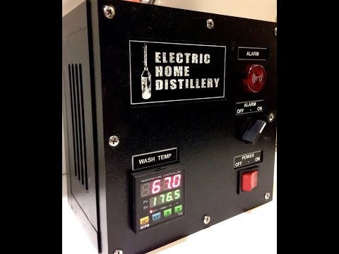 , title : 'time lapse corn mash moonshine   clawhammer still electric home distillery