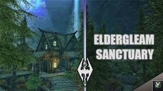 ELDER-GLEAM SANCTUARY HOUSE!!- Xbox Modded Skyrim Mod Showcase
