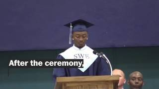 Diploma withheld after graduating senior refused to read speech written by administrators