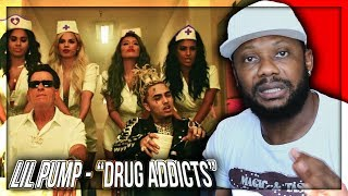 Lil Pump - Drug Addicts (Official Music Video) REACTION!!!