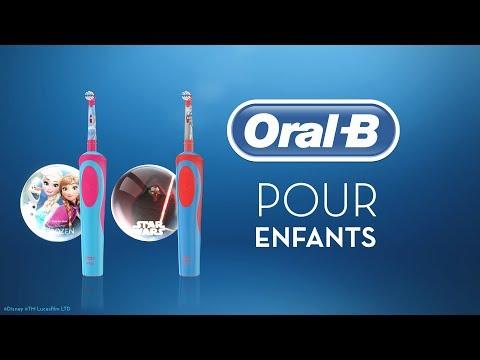 Brosses à dents électriques pour enfants Oral-B