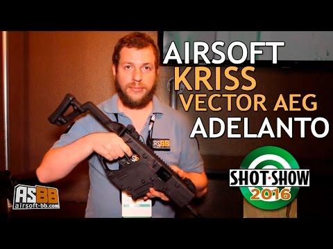Dallo Shot Show 2016, il Kriss Vector elettrico e tutte le news  Krytac!