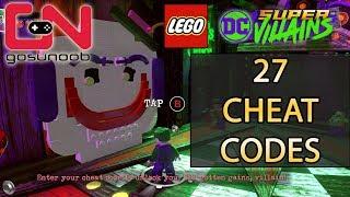 Lego DC Super-Villains Cheat Codes - Unlock All 27 Characters & Showcase