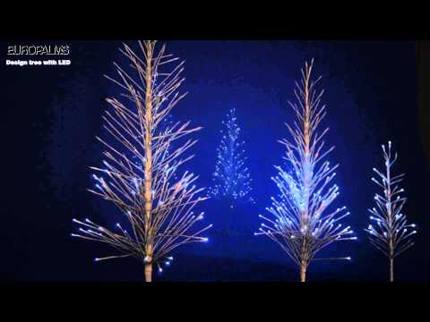 EUROPALMS Design Baum mit LED / Design tree with LED