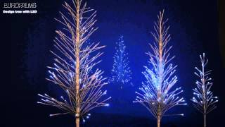 preview picture of video 'EUROPALMS Design Baum mit LED / Design tree with LED'