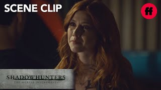 Shadowhunters | Season 2, Episode 15: Simon And Clary Talk About The Kiss | Freeform